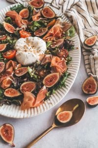 fig and burrata salad with figs