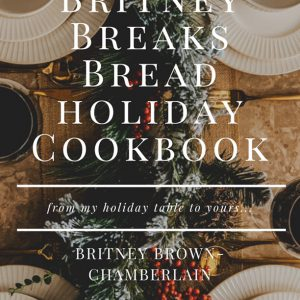 Britney breaks bread holiday cookbook