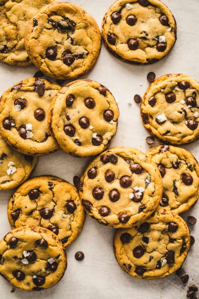 classic chocolate chip cookie