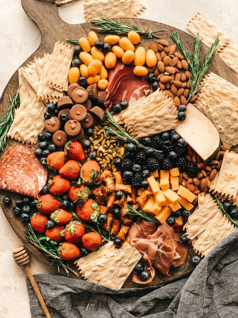 perfect holiday charcuterie board