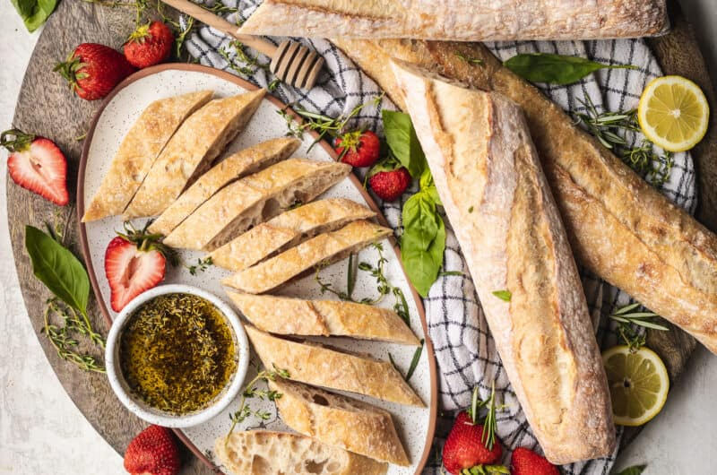 Classic French Baguettes Recipe