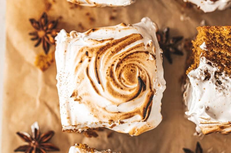 Sweet Potato Marshmallow Bars